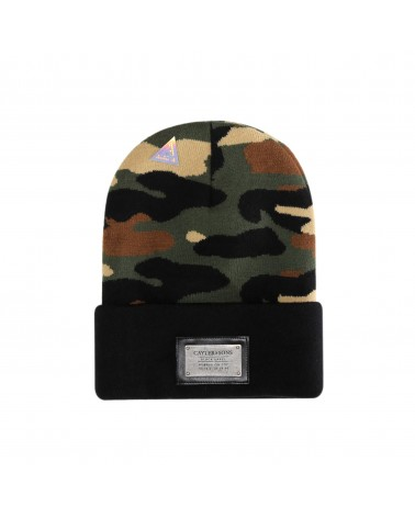 Cayler And Sons BL - Plated Old School Beanie - Woodland/Black
