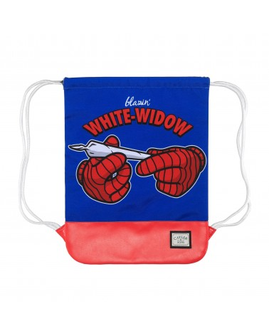 Cayler And Sons GL - White Widow Gym Bag - Blue/Red/White