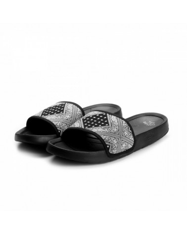 Cayler And Sons -  Paiz Sandals - Black/White