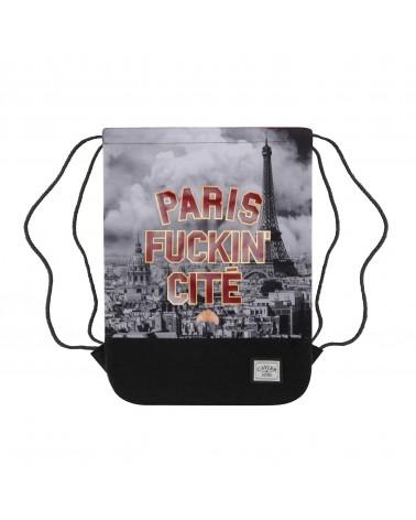 Cayler&Sons WL - PARIS SKYLINE Gymbag - Maroon/Mc