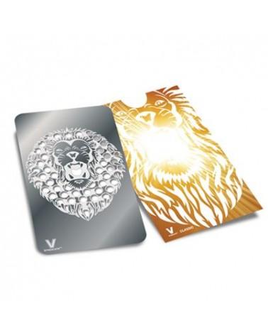 ROARING LION GRINDER CARD