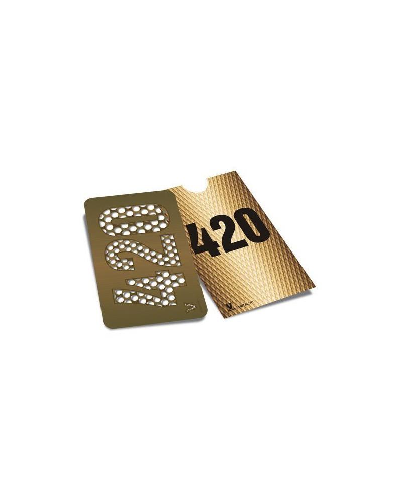 420 Gold GRINDER CARD