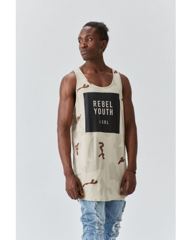 Cayler & Sons -CSBL Rebel Youth Tanktop - Desert Camo/Black