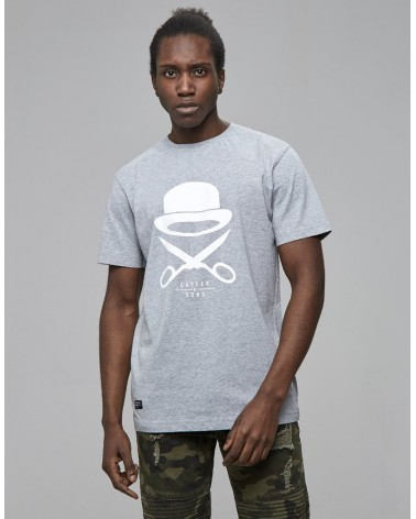 Cayler & Sons - PA Icon Tee - Heather Grey/White