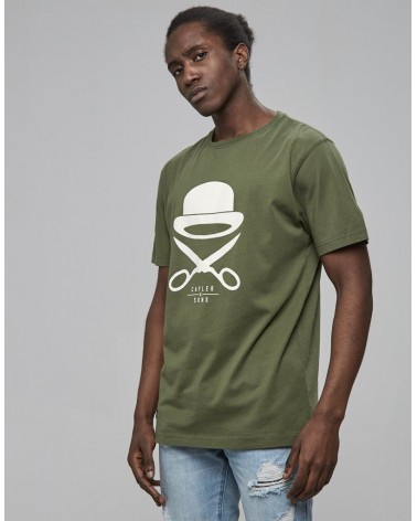 Cayler & Sons - PA Icon Tee - Olive/White