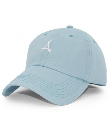 Tha Alumni - Logo Dad Hat Curved Cap - Light Blue