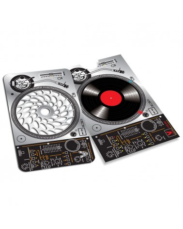 DJ Turntable Card Grinder Metal