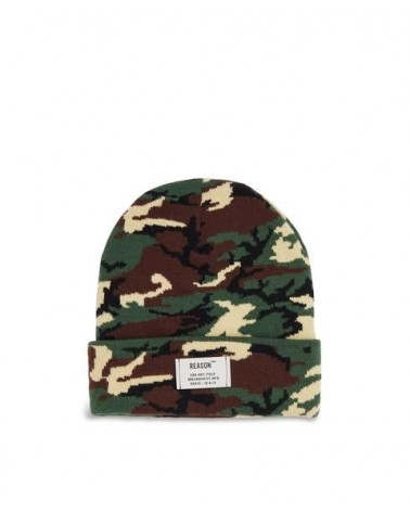 Reason - Industrial Beanie - Brown