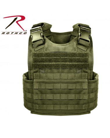 Rothco - Molle Plate Carrier Vest - Black