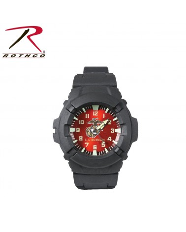 Rothco - Military Style Analog & Digital Display Watch - Olive