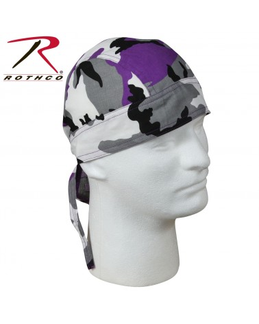 Rothco - Color Camo Headwrap - Ultra Violet