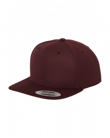 Yupoong - The Classics Snapback Cap - Heather Grey