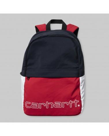 Carhartt - Terrace Backpack - Cardinal / Dark Navy / White