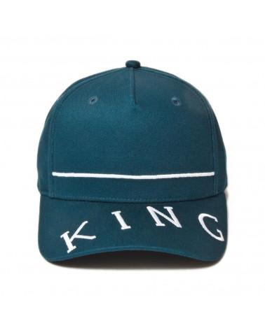 King Apparel - Leyton Curved Peak Cap - Ink