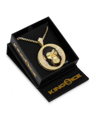 King Ice - The Spinning Rims Necklace - Gold