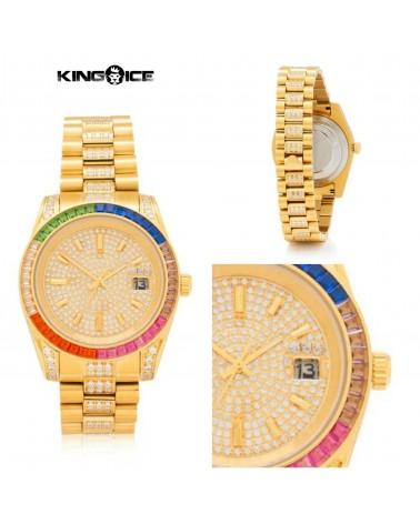 King Ice - Gold Royal Spectrum CZ