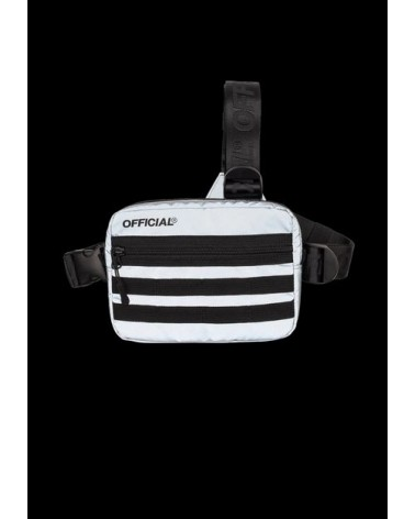 Official - RFLCTIV Squid Ink Dichroic Reflective Tri-Strap Chest Utility Bag - Mc