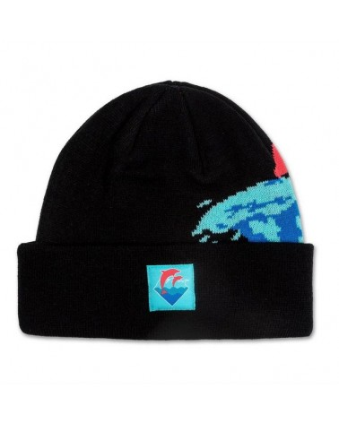 Pink Dolphin - Ring Of Fire Snapback - Aqua