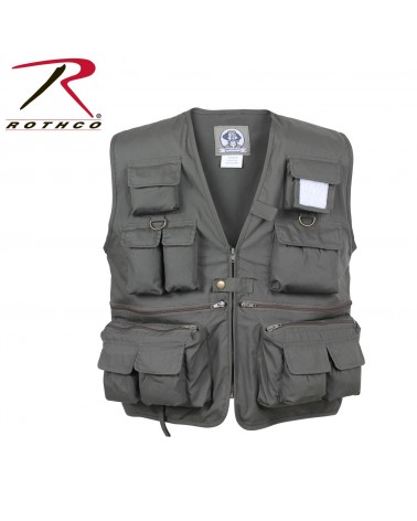 Rothco - Uncle Milty Travel Vest- Black