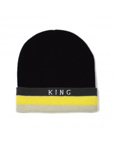 King Apparel - Defy Mesh Trucker Cap - Black