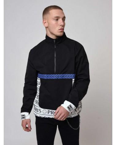 PROJECT X PARIS - Hooded Jacket / Reflective bi-material  - Grey