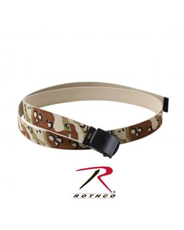 Rothco - Camo Reversible Belt - Desert Camo