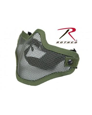 Rothco - Bravo Tac Gear Strike Steel Half Face Mask - Black