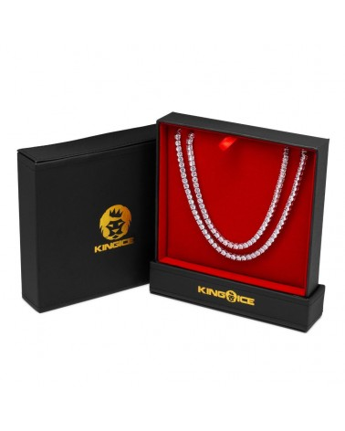 KING ICE - 15MM - CZ G-Link Chain 20'' - Gold