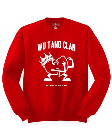 Block Custom - Wu Tang Fighter Crewneck - Black