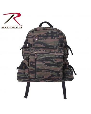 Rothco - Canvas Flight Bag - Black
