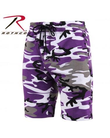 Rothco - Camo Sweat Short - Ultra Violet Camo
