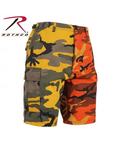 Rothco - Two-Tone BDU Short - Yellow Camo / Orange Camo