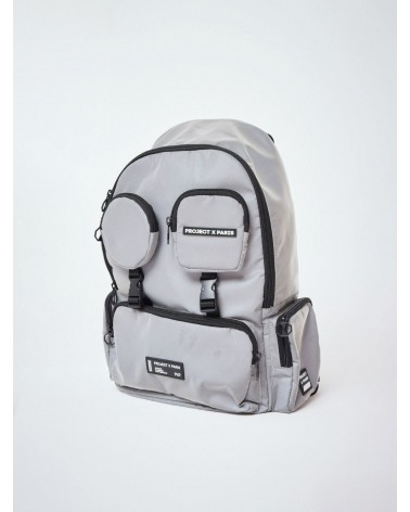 PROJECT X PARIS - MULTIPOCKET BACKPACK - REFLECTIVE