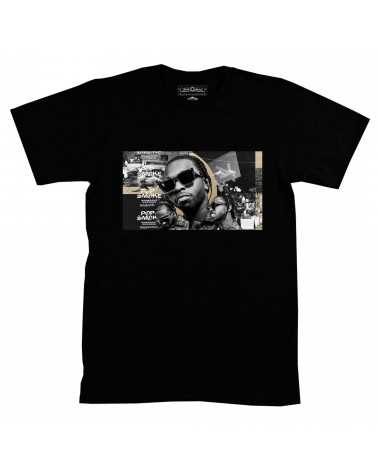 Block Custom - Pop Smoke Drill Tee - Black
