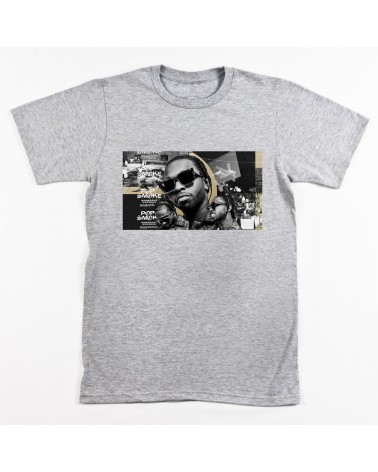 Block Custom - Pop Smoke Drill Tee - Grey