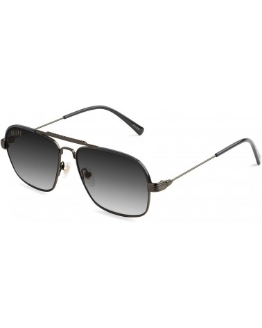 9Five Eyewear - Avian GunMetal Sunglasses - Black