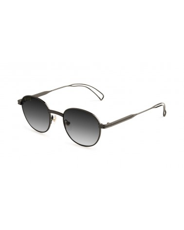 9Five Eyewear - Avian Gradient GunMetal Sunglasses - Black