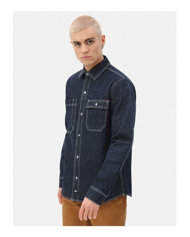 Dickies Life - Paincourtville Denim Shirt - Navy