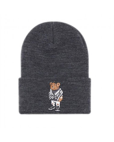 Cayler&Sons WL - Purple Swag Beanie - Grey