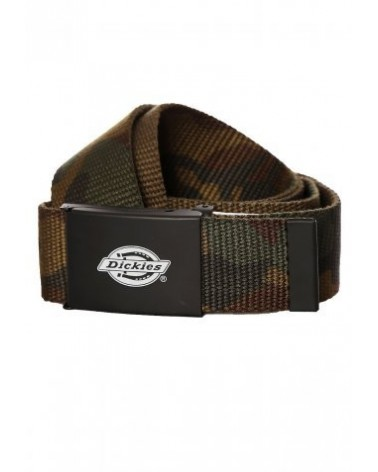 Dickies Life - Orcutt Logo Buckle Belt - Camo