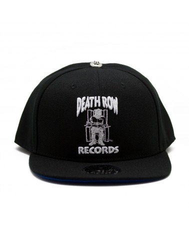 King Ice x Death Row Records - Death Row Logo Hat - Black