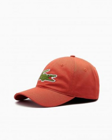 Lacoste Live - Oversized Logo Curved Cap - Crater