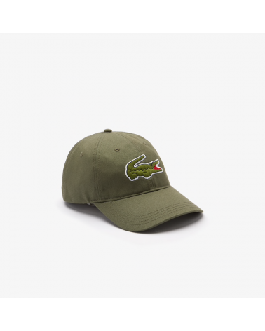 Lacoste Live - Oversized Logo Curved Cap - Tank