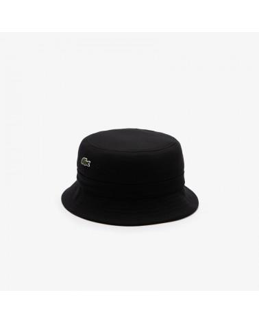 Lacoste Sport - Small Logo Bucket Hat - Black
