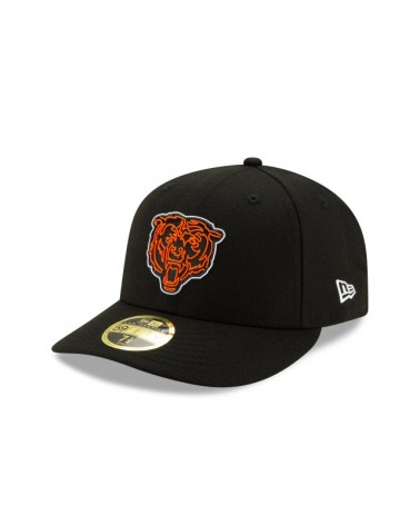 New Era - Chicago Bears Official NFL Draft Low Profile 59FIFTY Fitted Cap - Black