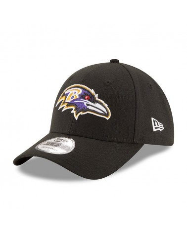 New Era - The League Baltimore Ravens Curved Cap - Black