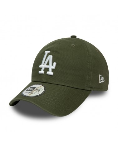 New Era - Los Angeles Dodgers Essential Washed Casual Curved Cap - Olive