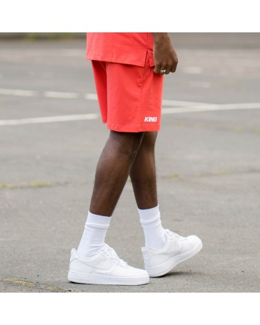 King Apparel - Stepney Shorts - Imperial Red