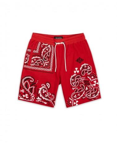 Reason - Block Shorts - Red