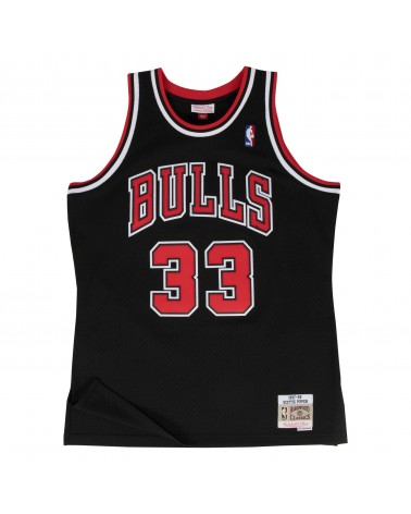 Mitchell & Ness - Swingman Jersey Chicago Bulls Alternate 1997-1998 Scotty Pippen - Black/Red